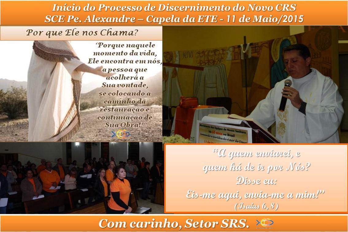 Início Proc de Discernimento do Novo