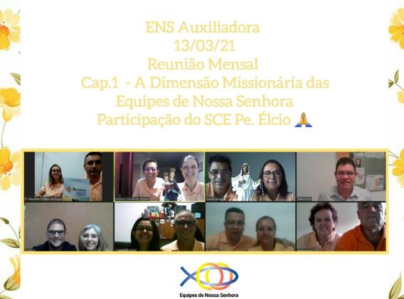 SRS - ENS Auxiliadora - Reunião Mensal.