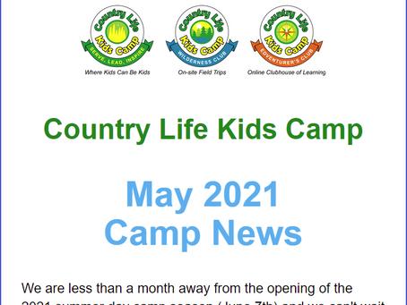 May Camper News
