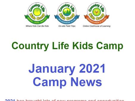 January Camp News