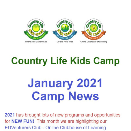 January Camp News
