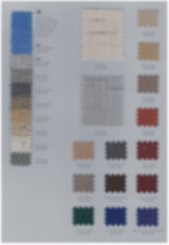 SUNBRELLA COLOR CHART