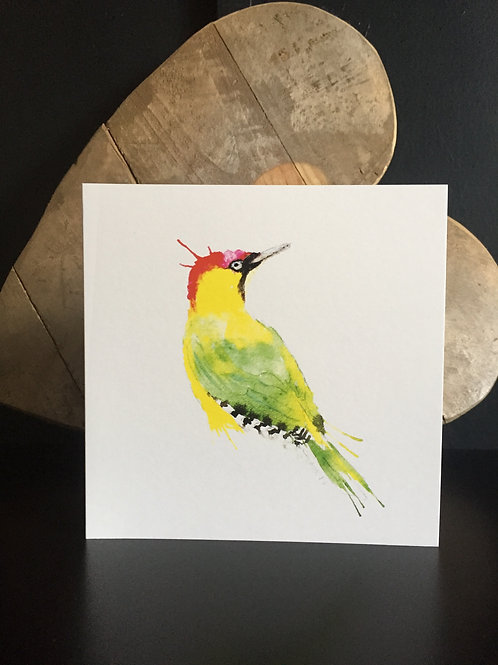 Woodpecker Card