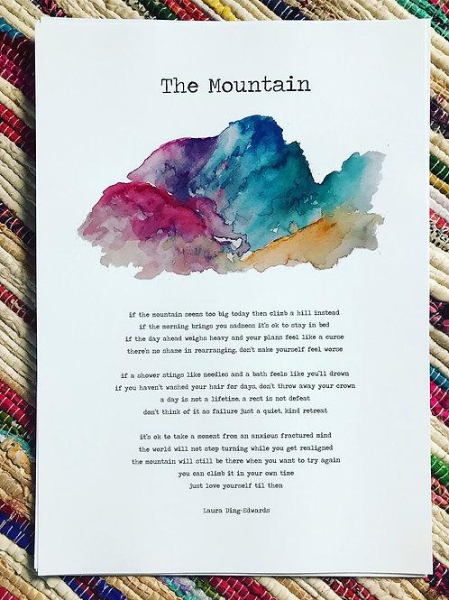 The Mountain - NEW PRINT!