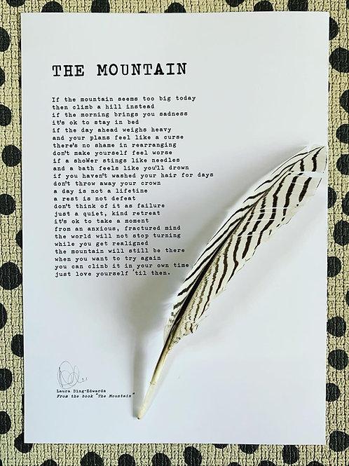 The Mountain - A4 Print
