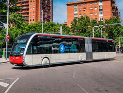 Nuevos autobuses eléctricos Irizar se incorporan a la flota de TMB