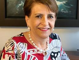 Norma Becerra Pocoroba, Presidenta del Consejo Nacional Directivo de la AMANAC