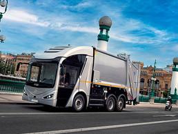 Acuerdan producir camiones eléctricos Irizar ie urban truck
