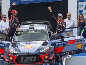 Hyundai Shell Mobis WRT conserva la cima del WRC