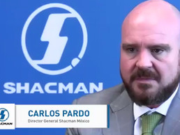 Camiones Shacman llegan a México