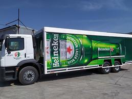 Heineken México es el flotillero más grande de carga para VW