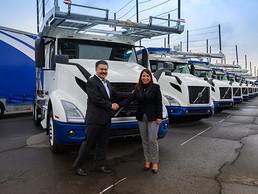 55 nuevas unidades Volvo en Grupo TyT