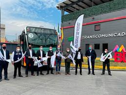 Mexibus estrena primera unidad a gas