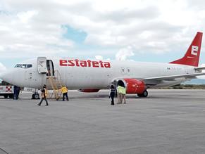 Estafeta integra Boeing 737- 400 a su flota aérea