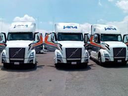 Transkarga Jara incorpora a su flota unidades Volvo VNL 760