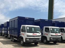 Volkswagen Caminhões e Ônibus entrega 126 camiones en Paraguay