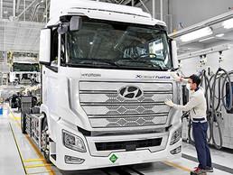 Hyundai XCIENT Fuel Cell, se dirige a Europa para uso comercial