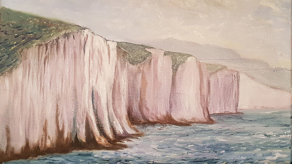 The Seven Sisters form Seaford Down
