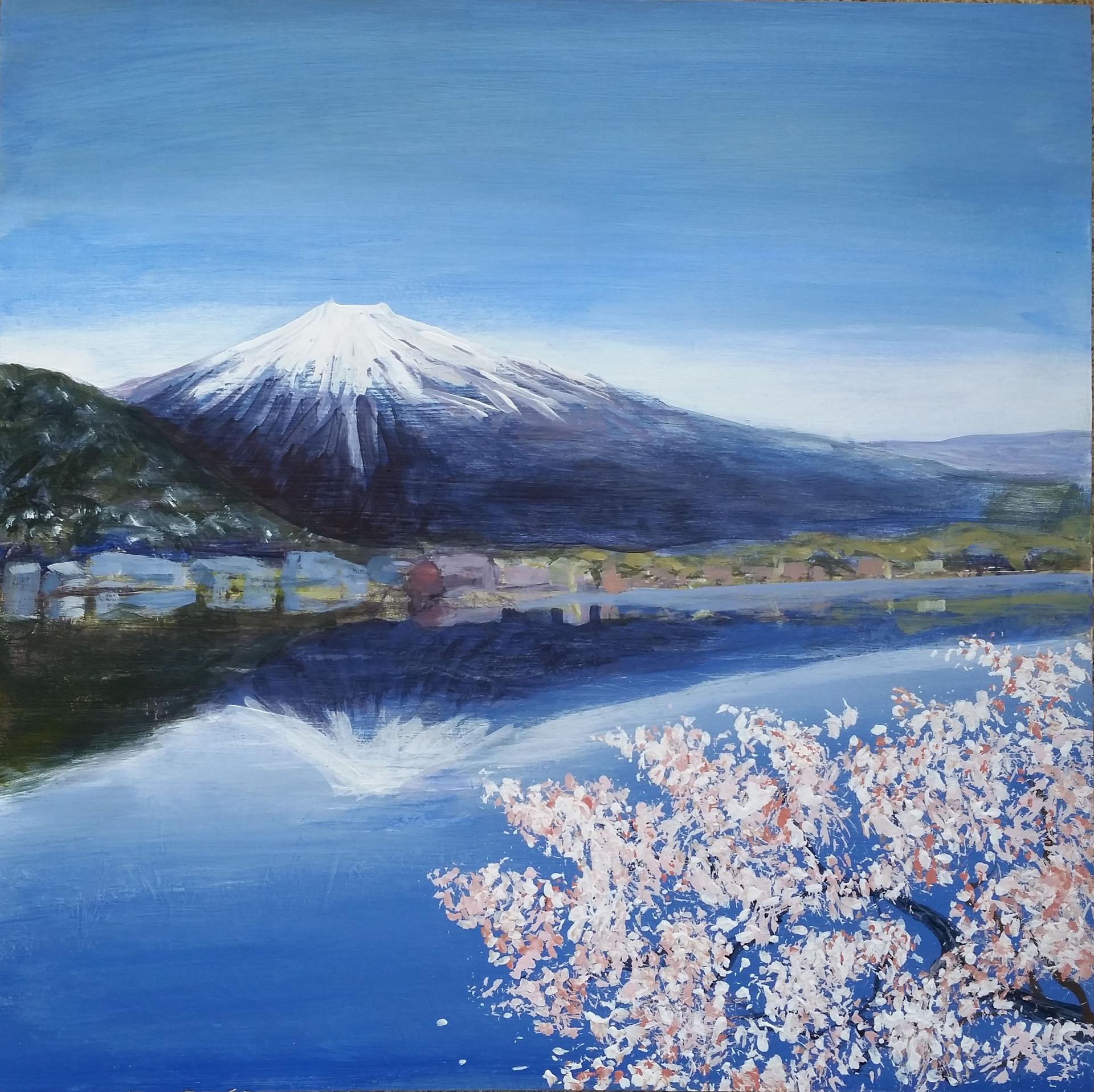 Fuji at Blossom Time