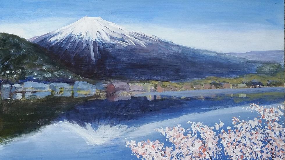 Mount Fuji BlossomTime