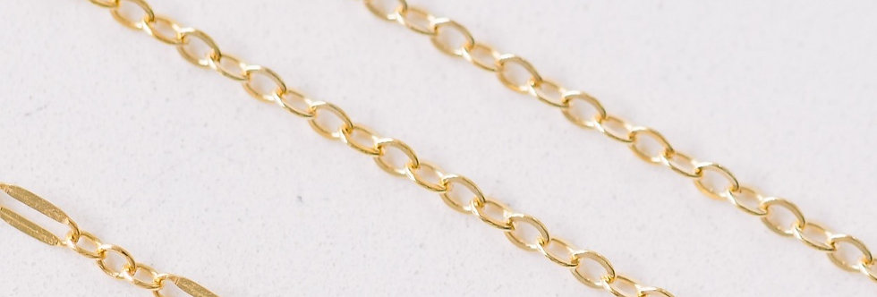 Gold Filled Plain Chain