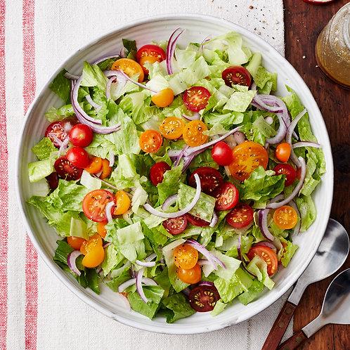 Garden Salad with Italian Dressing