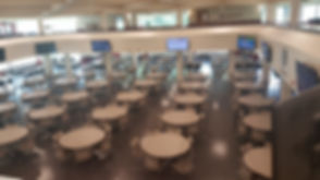 The Main Dining Area of Donovan Dining Center