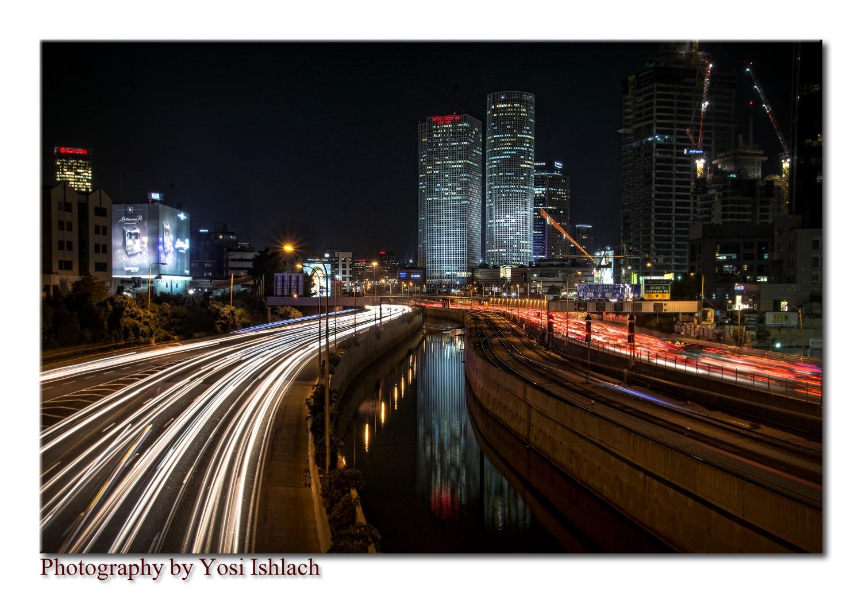מסלולי אורות רכבים