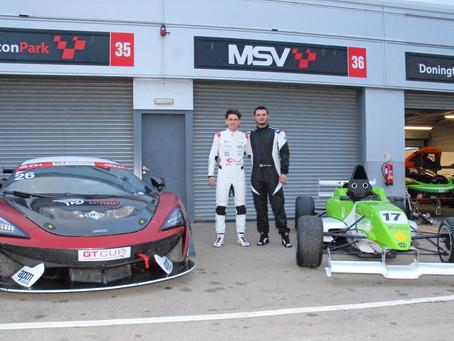 Costa and Rawlings reflect on shared motorsport beginnings at Donington Park