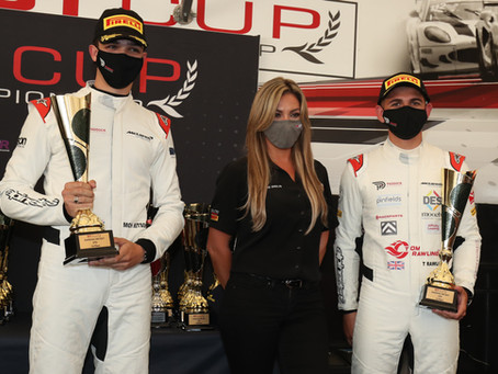 Race weekend report: Rawlings and Ritson bring home first GT Cup victory at Snetterton