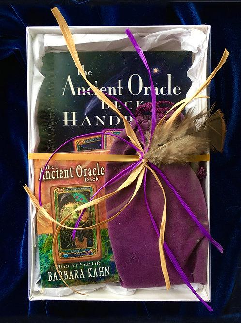 Ancient Oracle Deck and Handbook - Kit