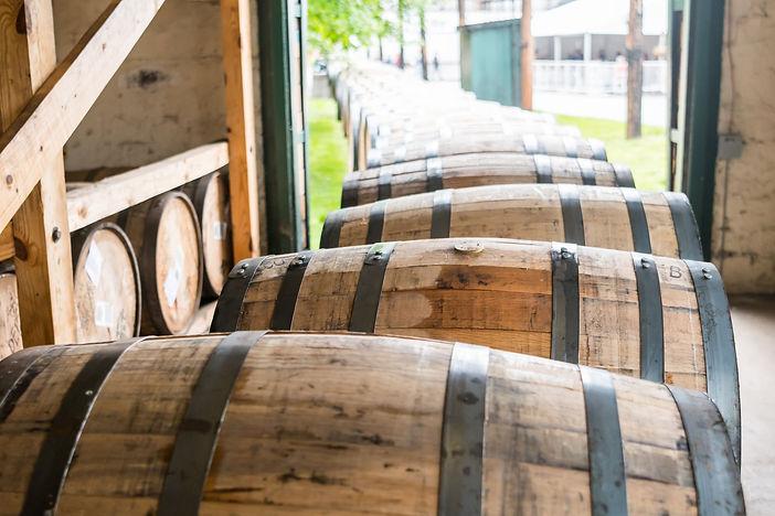 Canva - Bourbon Barrels Heading for Agin
