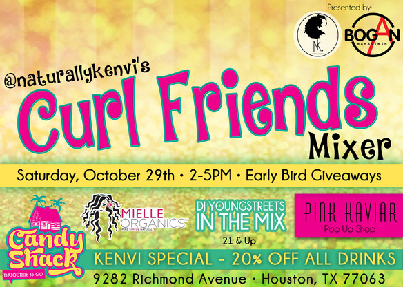 The Recap: Curlfriends Mixer