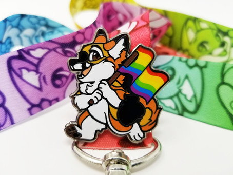 Fursona Pins & Pride Pins