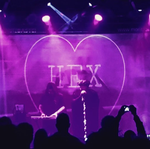 Hexheart made their European debut in Leipzig Germany at this years Wave Gotik Treffen