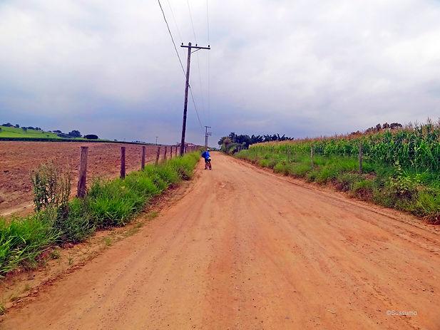 Caminho do Sol, Caminho de Santiago, passeio de bike, Salto, Elias Fausto