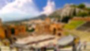 Sicilia, Taormina, Siracusa, Noto, Palermo, Cefalu, Catania, teatro grego de taormina
