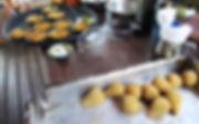 coxinhas de jaca e casquinha de siri de carne vegetal de jaca
