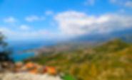 Sicilia, Taormina, Siracusa, Noto, Palermo, Cefalu, Catania, castelmola, castelo de castelmola, ruinas do castelo de castelmola
