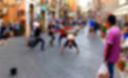 Sicilia, Taormina, Siracusa, Noto, Palermo, Cefalu, Catania, street dance, corso umberto