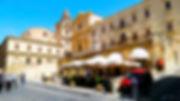 Noto, Siracusa, Sicilia, Italia, Piazza dell'Immacolata, Chiesa di San Francesco all'Immacolata