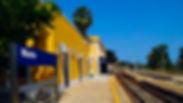 Noto, Siracusa, Sicilia, Italia, Estação de trem Noto