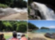ilha das couves cachoeira promirim