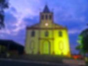 Caminho do Sol, Caminho de Santiago, passeio de bike, Mombuca, Igreja de Mombuca