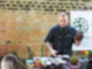 Chef André Vieland jaca verde Ubatuba