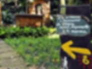 Caminho do Sol, Caminho de Santiago, Casa de Santiago,  Águas de São Pedro