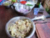 Ceviche de jaca verde Ubatuba oficina carnes da terra
