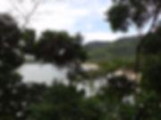 praia da Caçandoca em Ubatuba vista da trilha da praia do Pulso