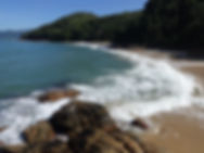 praia do cedro sul acampamento camping ubatuba