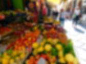 Barraca de frutas em Sorrento